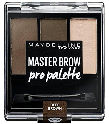 Maybelline New York Eye Brow Kit, deep braun, 1er Pack (1 x 3 g)