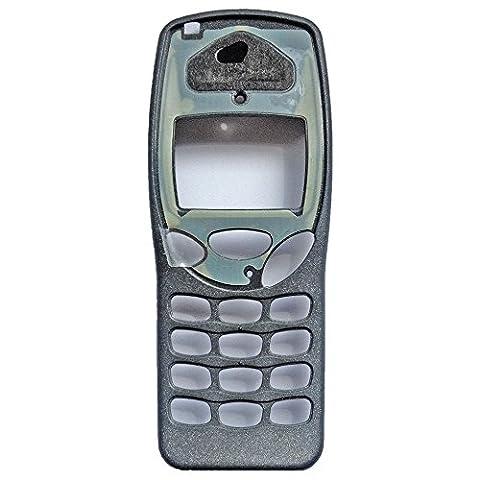 Nokia 3210 Original Front Cover ohne Display-Glas Grau