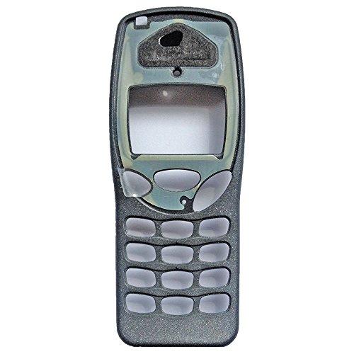 Original Front Cover ohne Display Glas für Nokia 3210 grau