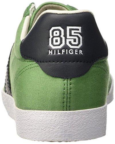 Tommy Hilfiger Herren P2285LAYOFF 1C_1 Pumps Verde (Juniper 505)