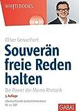 Expert Marketplace -  Oliver Geisselhart  - Souverän freie Reden halten (Whitebooks)