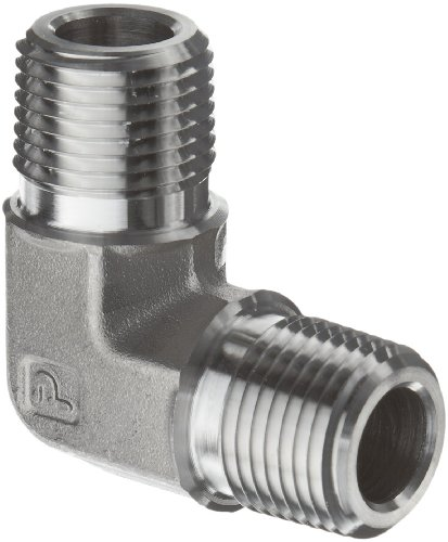 parker-stainless-steel-316-pipe-fitting-90-degree-elbow-1-8-npt-male-x-1-8-npt-male-by-parker