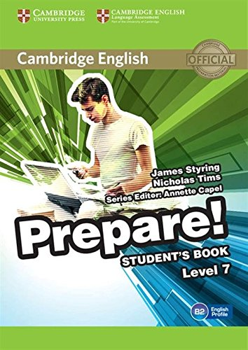 Cambridge English Prepare! Level 7 Student's Book