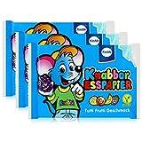 Küchle Knabber Esspapier blau Tutti Frutti Geschmack 25g Essoblaten (3er Pack)