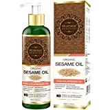 Morpheme Remedies Organic Sesame Pure ColdPressed Oil For Hair, Body, Skin Care, Massage