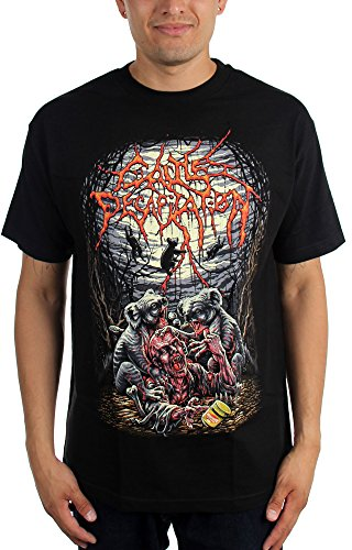 Cattle Decapitation -  T-shirt - Uomo Black X-Large