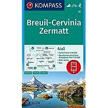 Breuil Cervinia Zermatt 1:50.000