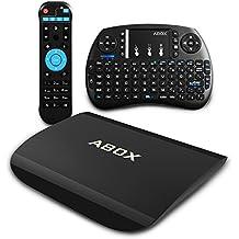 [ Gratis Mini Teclado Inalámbrico ] 2017 Nueva Modelo GooBang Doo ABOX A3 Amlogic S912 Octa-core a 2 GHz 64-bit ARM Cortex A53 CPU 2G/16G Smart TV Box