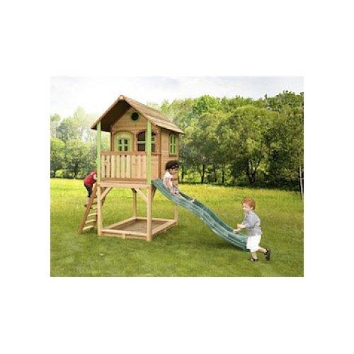 Axi Kinder Spielhaus Sarah mit Terrasse - Stelzenhaus hoch Preisvergleich