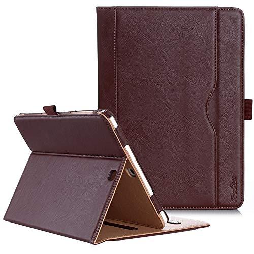ProCase Housse Samsung Galaxy Tab S2 9.7 - Housse en Cuir Housse Folio pour Galaxy Tab S2 Tablet(9.7 Pouce, SM-T810 T815 T813) -Marron