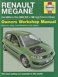 Haynes Renault Megane Owners Workshop Manual