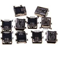 10x 5-pin Femmina Connettore Mini Presa