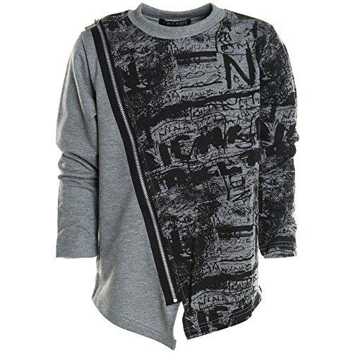 kinder-pullover-langarmshirt-hoodie-jacke-sweatshirt-kapuzen-sweatjacke-20767-farbegraugre176