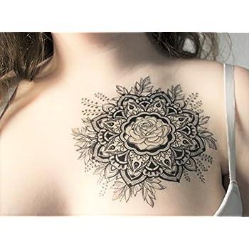 Skullpaper Temporäre A5 Tattoo Transferfolie Für Die Haut
