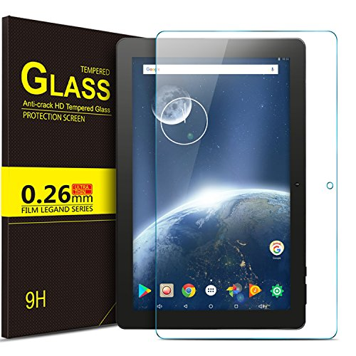 IVSO Teclast P10 Pellicola Protettiva, Schermo in Vetro Temperato per Teclast P10 Tablet (Tempered Glass - 1 Pack)
