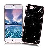 Coque iPhone 7 XiaoXiMi Etui en Marbre Texture Housse de Protection Soft TPU Silicone...