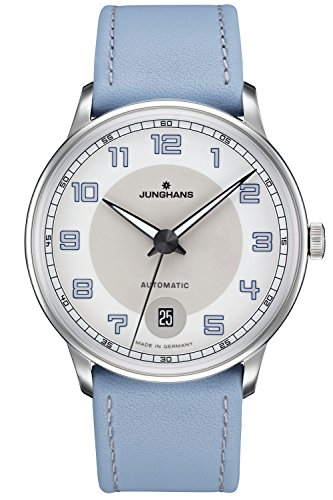 Junghans Meister Driver Automatic Women's Watch Light Blue 027/4718.00