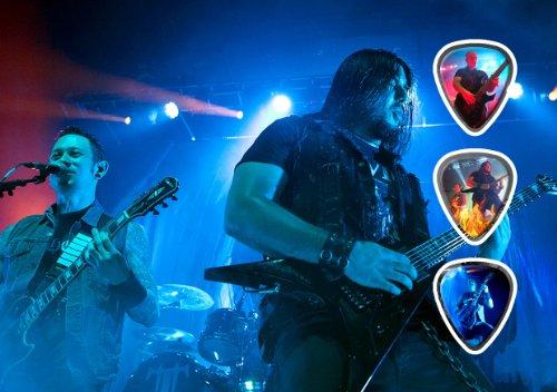 Trivium (DW) Live Performance Unframed Chitarra Plettro Display