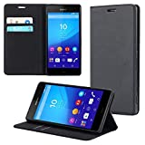 ECENCE Sony Xperia Z3 Plus Handy-Tasche Flip Cover Book