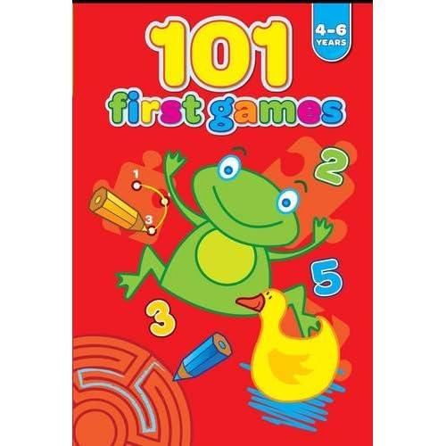 101 Primi Giochi. 4-6 Anni. Rosso