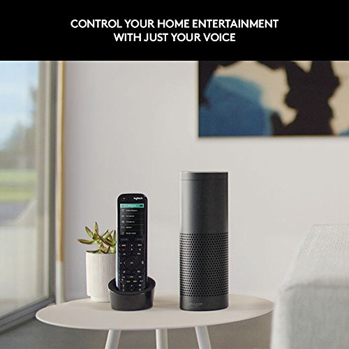 Logitech Harmony Elite Remote Control, Hub and App, works with Alexa