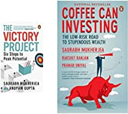The Victory Project: Six Steps to Peak Potential + Coffee Can Investing(Set of 2 Books)