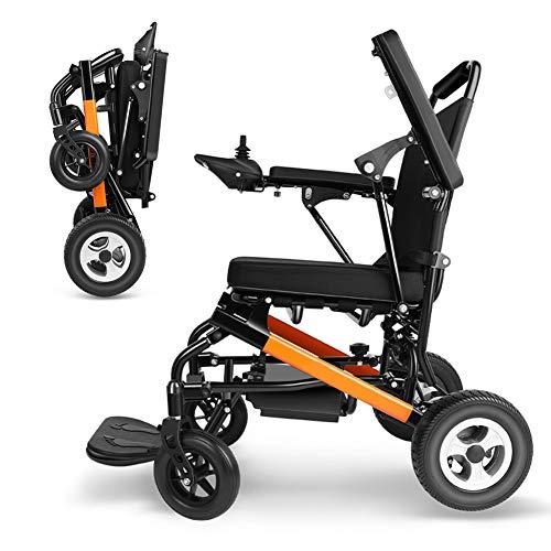 Rabbfay Ultra Tragbarer Faltrollstuhl Mit Dual-Modus-Fernbedienung, Elektrische Rollstühle Mit Elektrischer/Manueller Freischaltung, Elektrorollstuhl -