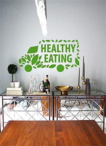 pegatinas decorativas pared Etiqueta de la pared de la cocina pegatinas de...