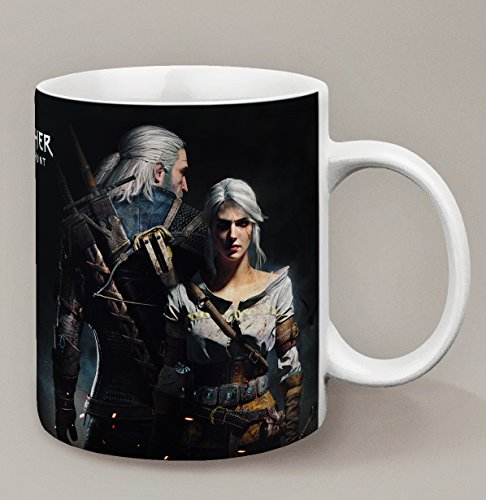 Kanto Factory - Taza The Witcher 3 Wild Hunt Geralt y Ciri