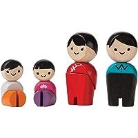 PLAN TOYS Family (Asian) - Wooden Set