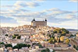 Poster 60 x 40 cm: Toledo in der Nähe von Madrid von