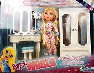 Bratz - World - Cloe's House - Passion for Individuality - includes Cloe Doll 24cm