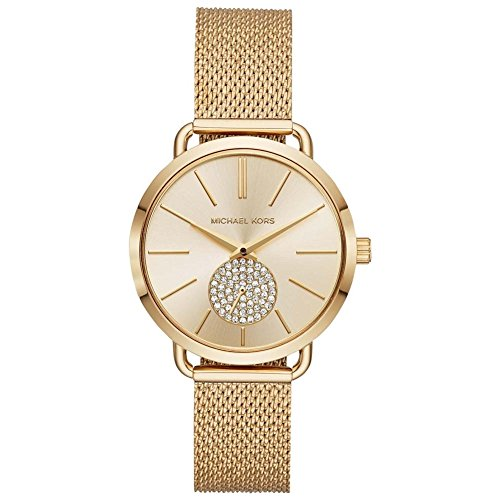 Michael Kors Women's Analogue Quartz Watch with Stainless Steel Strap MK3844