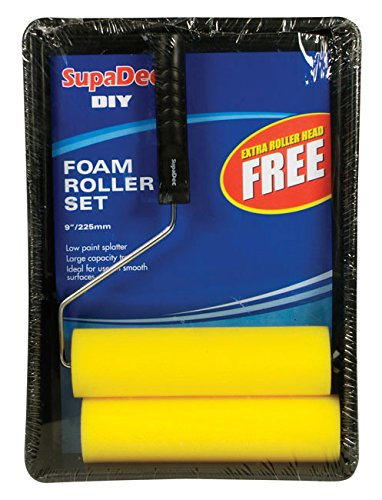 "SupaDec Foam Roller & Tray Set 9"" / 255mm (507064)"
