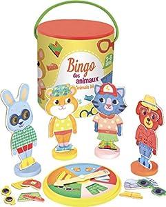 Vilac Vilac6130 - Juego de Bingo para Animales