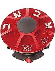 Tapa Dirección KCNC Aluminio Rojo