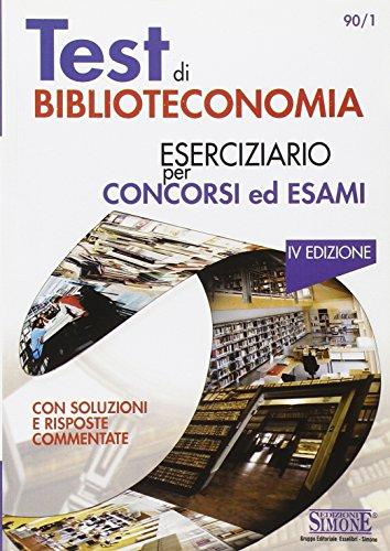 Test di biblioteconomia (Pubblicazioni giuridiche)