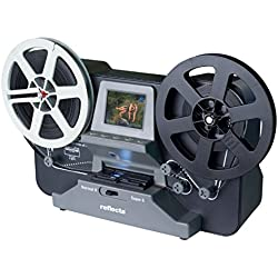 Scanner de Films Reflecta Super 8 Normal 8 1440 x 1080 Pixels Films Rouleau Super 8, Films Rouleau Normal 8, Sortie TV,