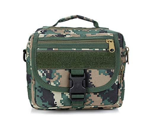 Fjiujin,Diktier-Tasche für die Außentasche der Sporttasche im Freien(color:21.18.7,size:Dschungel digital) Kershaw 7