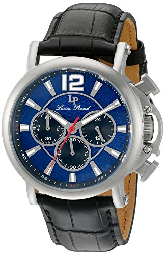 Lucien Piccard Men's Analogue Quartz Watch with Leather Strap LP-40018C-03