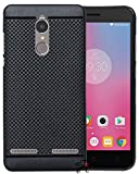 #8: Jkobi 360* Protection Premium Dotted Designed Soft Rubberised Back Case Cover For Lenovo K6 Power -Black