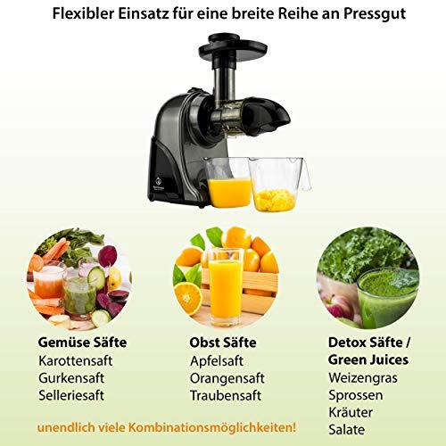 Nutrilovers Slow Juicer GREEN-PRESS - 5