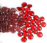 ARSUK Guijarros, cuentas de vidrio y guijarros, pepitas de vidrio, gemas de...