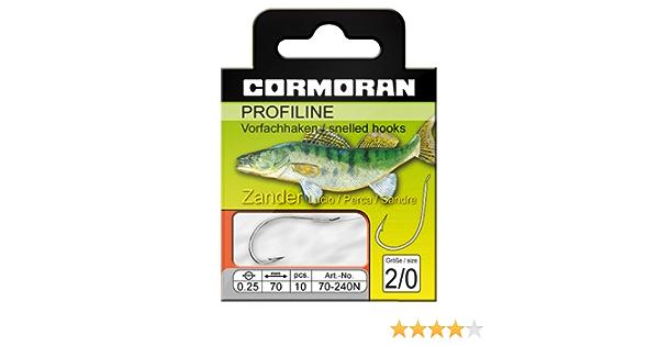 Cormoran PROFILINE Zanderhaken nickel Gr.2//0 0,25mm
