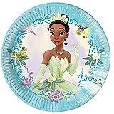 Platos de la película Tiana y el sapo, 10 unidades, fiesta de cumpleaños con diseño de Tiana, vajilla y adornos