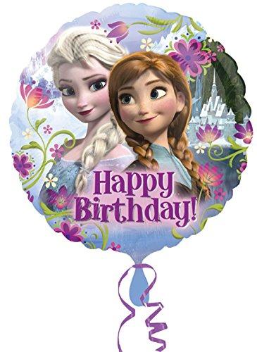 erdbeerloft - Dekoration Frozen Ballon Eiskönigin Geburtstag, Mehrfarbig (Singen Tanzen Und Olaf)