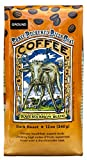 Raven's Brew Ground Coffee 12 ounce - Dark Roast - Full Body with a Long Sweet Finish (Three Peckered Billy Goat)