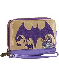 Karactermania DC Super Hero Girls Batgirl Monedero, 12 cm, Morado