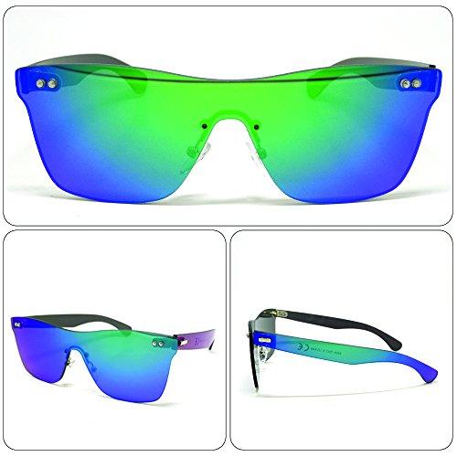 see vision Sonnenbrille Sunglasses Herren Damen Unisex Wayfarer Art. A352017