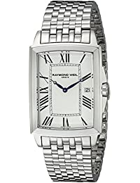 Raymond Weil Men's 5597-ST-00300 Tradition Analog Display Swiss Quartz Silver Watch